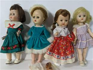 Lot 4 Vogue Ginny & Ginger Storybook Dolls