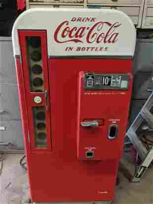Coke Coca-Cola Vendo 81D Vending Machine Original
