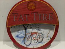 New Belgium Brewery Fat Tire Beer Light Up Sign