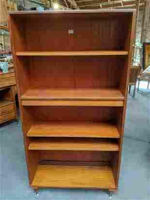 Mid-Century Modern G Plan  Open Front Bookcase