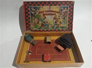 c1930 Tootsietoy Music Room Furniture in Box