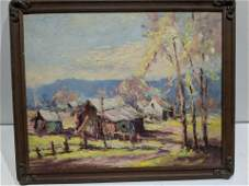 Arnold Turtle Brown County Oil Painting