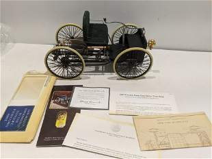 Franklin Mint 1896 Ford Quadricycle 1/6 scale Die Cast