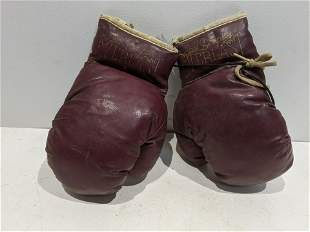 Vintage Jack Dempsey Everlast A Child's Boxing Gloves