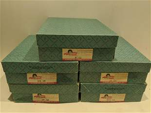 Lot 6 Madame Alexander Little Women Dolls in Boxes
