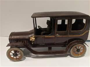 c1910 German Bing Tin Litho Limousine Car