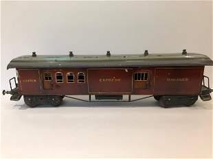 c1910 Bing 1 Gauge Baggage Car Train Coach