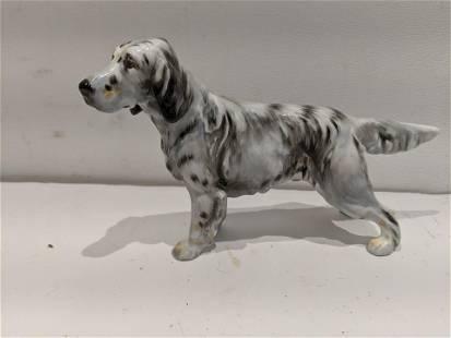 Royal Doulton Dog Figurine English Setter HN1051