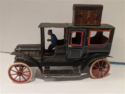 c1910 German Carette Tin Litho Limousine Car