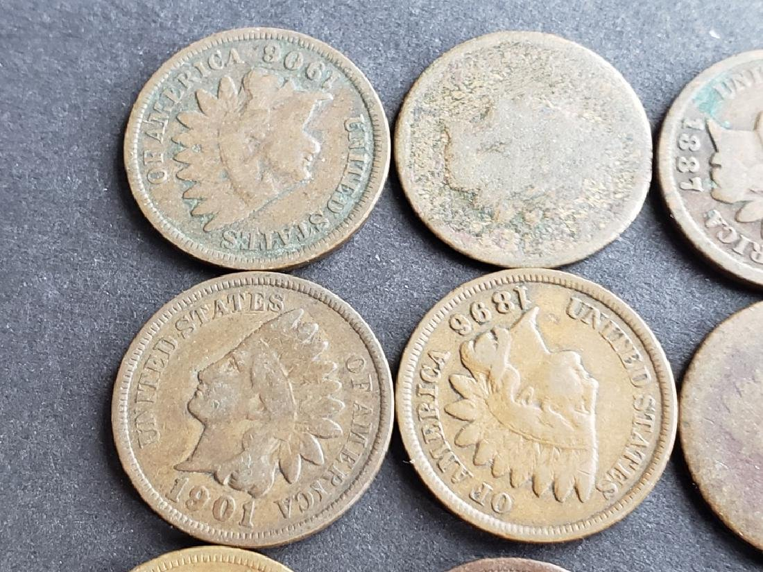 24 Indian Head Cents - 2