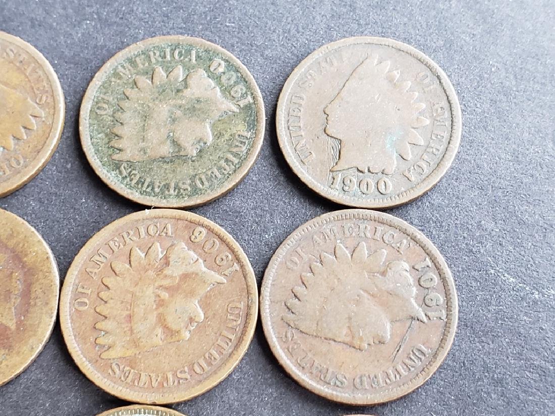 24 Indian Head Cents - 4