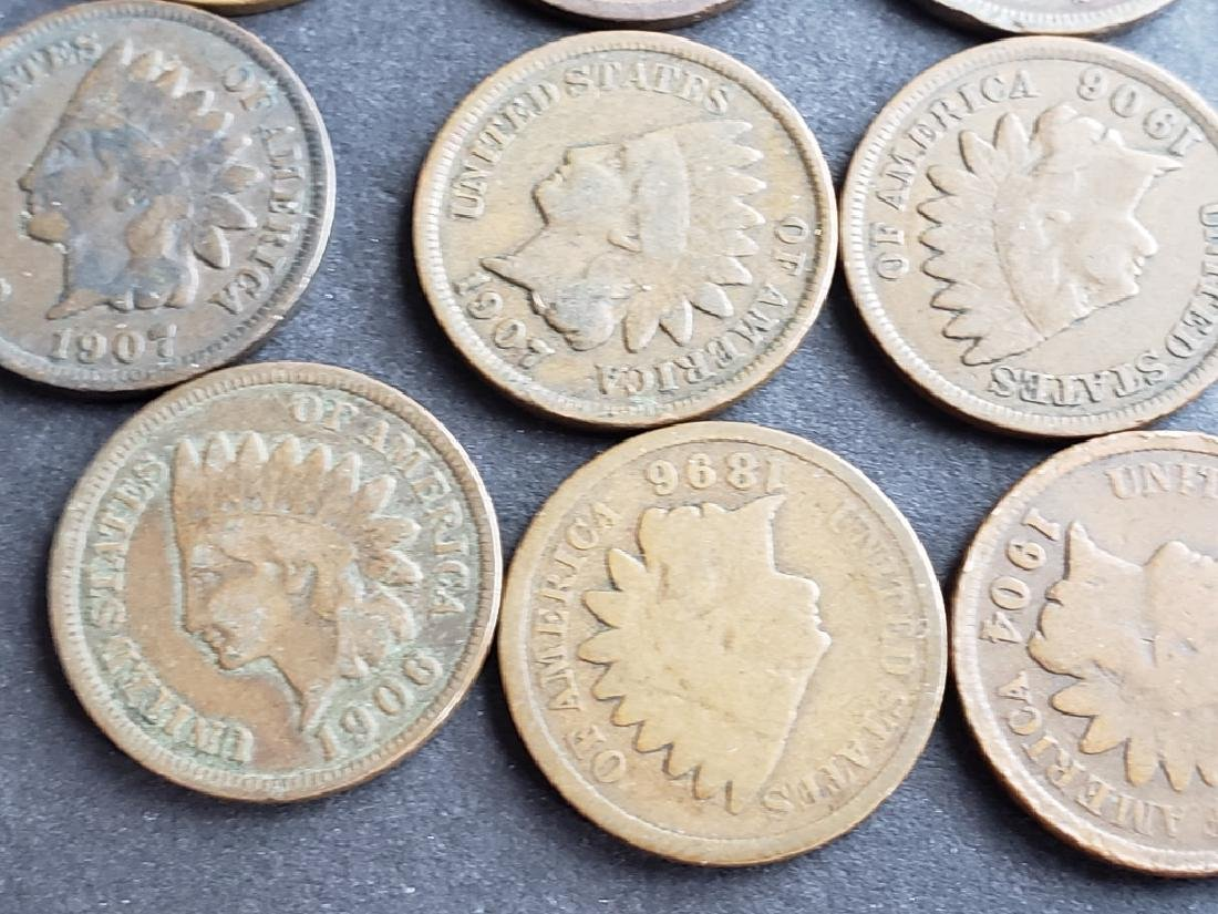 24 Indian Head Cents - 8
