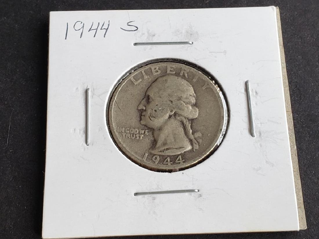 1944 S Washington Quarter