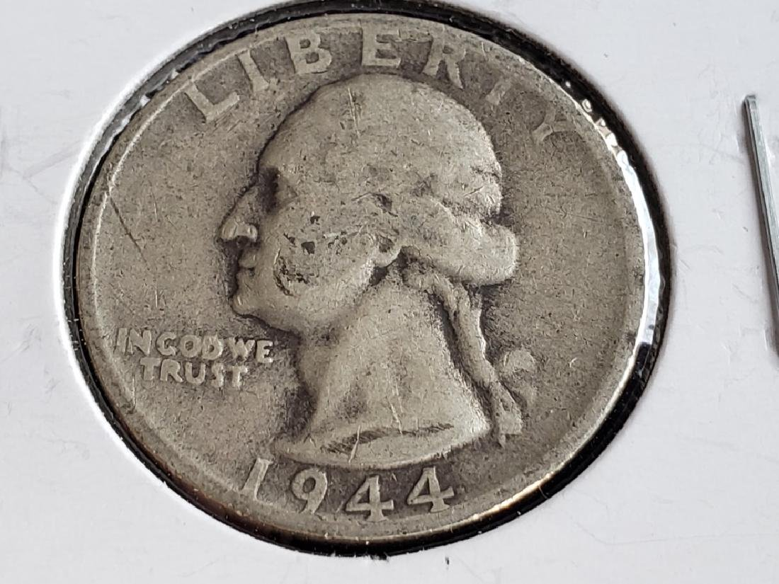1944 S Washington Quarter - 2