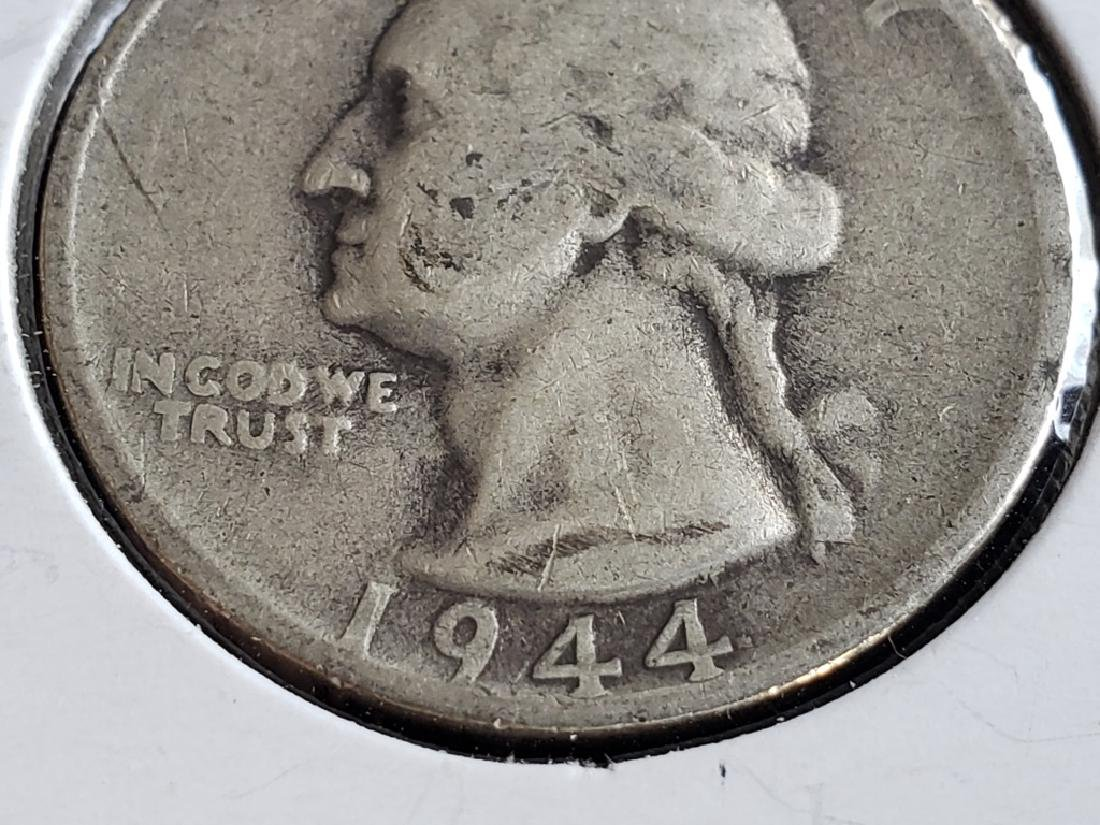 1944 S Washington Quarter - 4