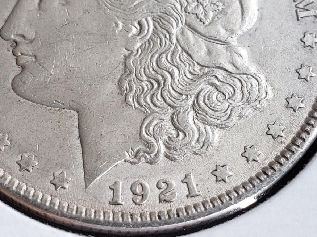 1921 Morgan Silver Dollar - 5