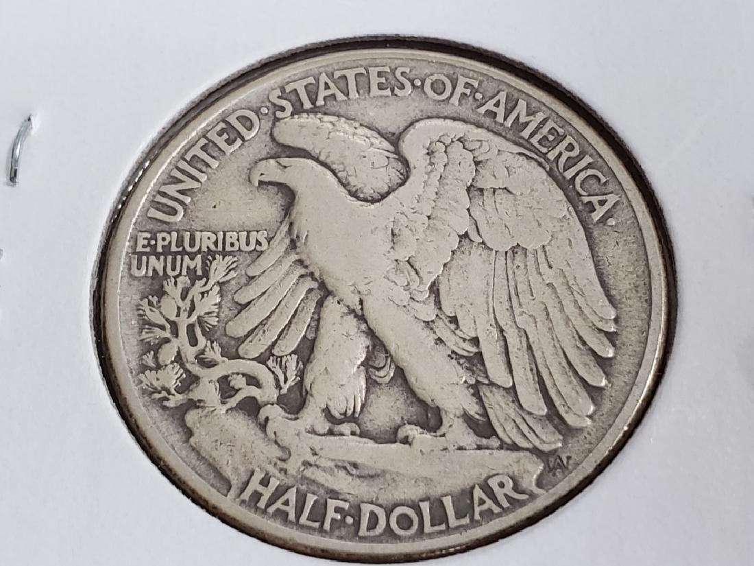 1945 Walking Liberty Half Dollar - 7