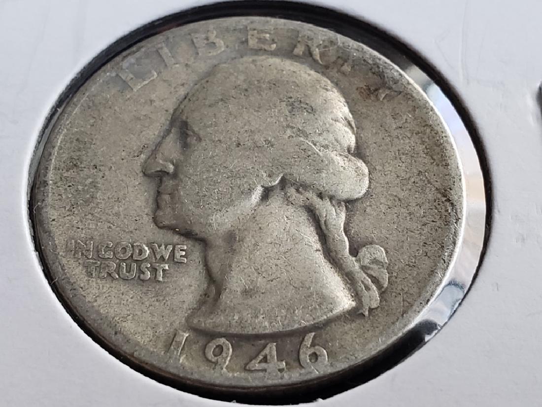 1946 Washington Quarter - 2