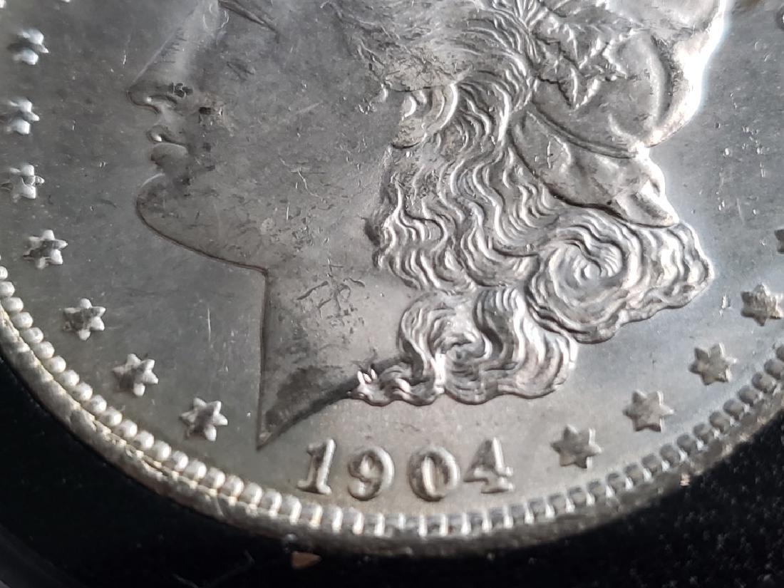 1904 O Morgan Silver Dollar - 4