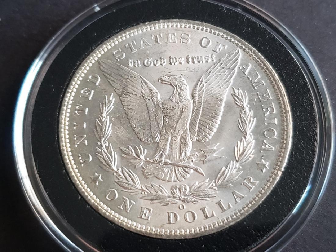 1904 O Morgan Silver Dollar - 6