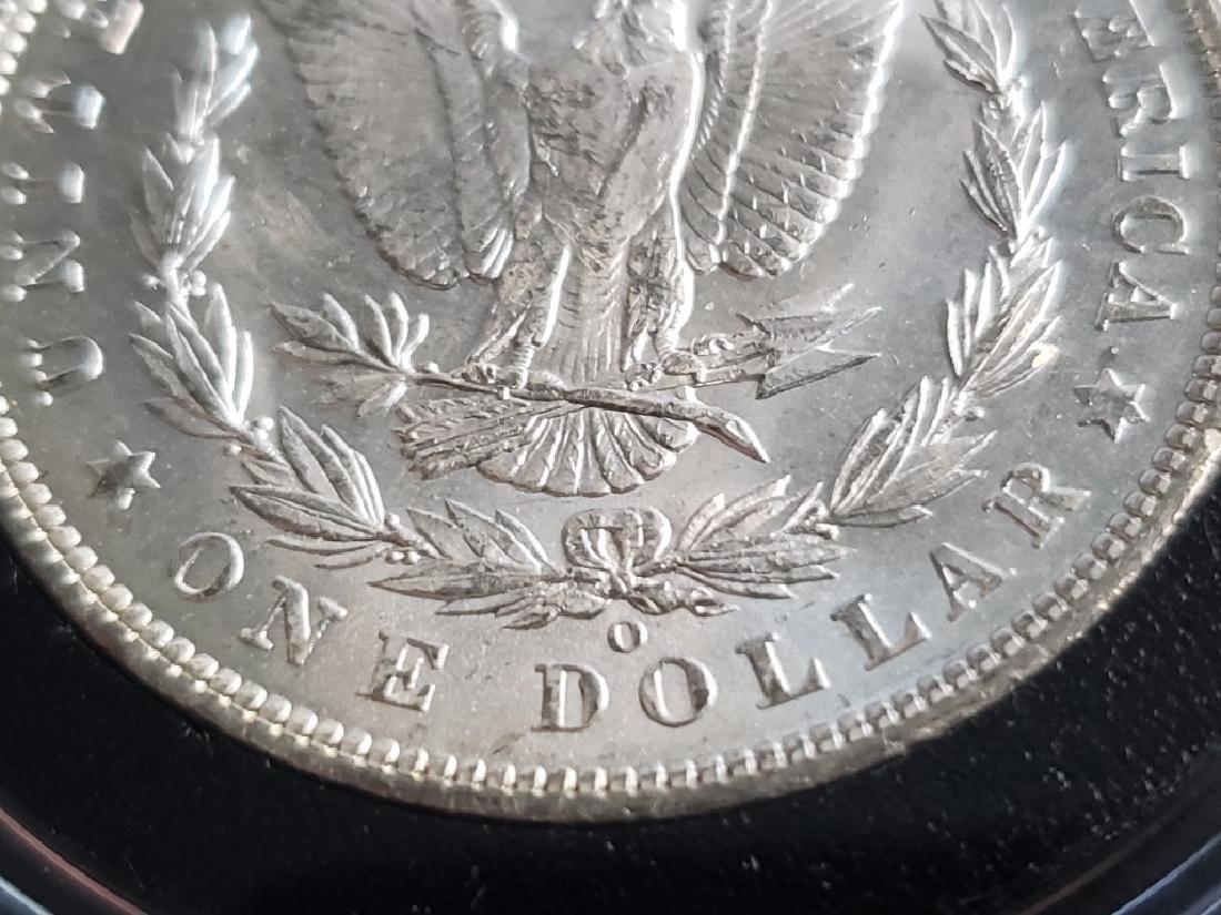 1904 O Morgan Silver Dollar - 9