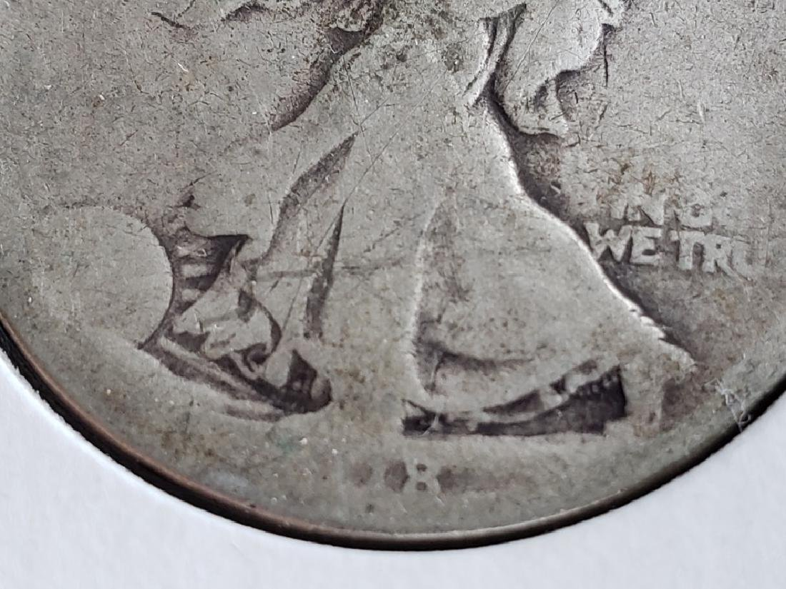 1918 Walking Liberty Half Dollar - 5
