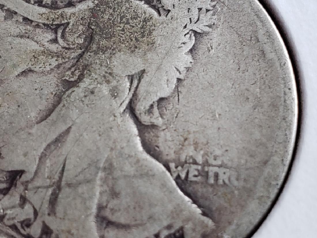 1918 Walking Liberty Half Dollar - 6