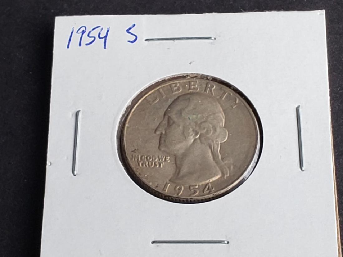 1954 S Washington Quarter