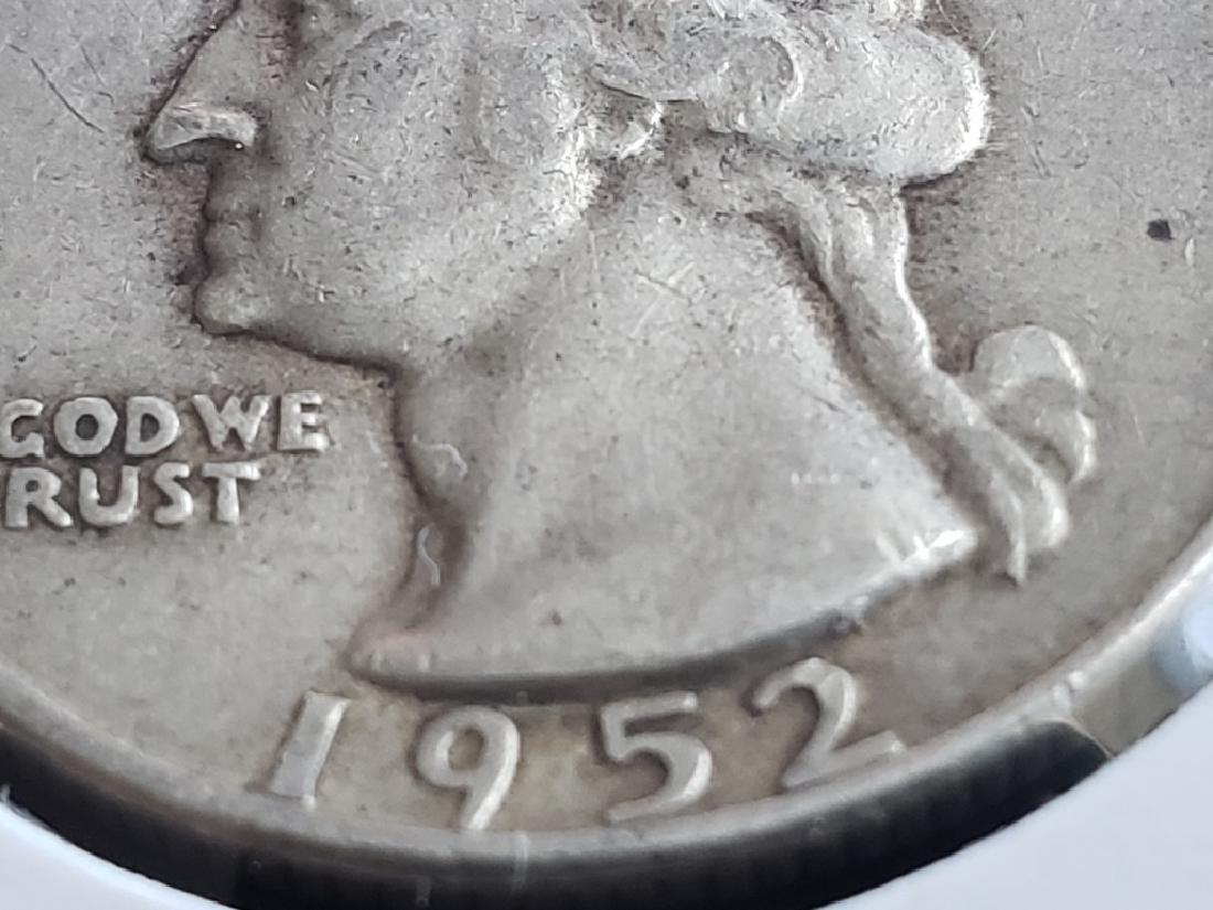 1952 D Washington Quarter - 5