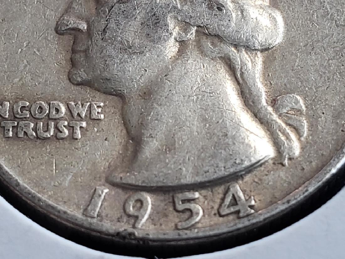 1954 Washington Quarter - 5