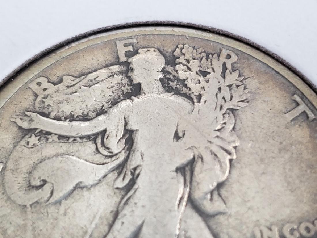 1917 Walking Liberty Half Dollar - 3