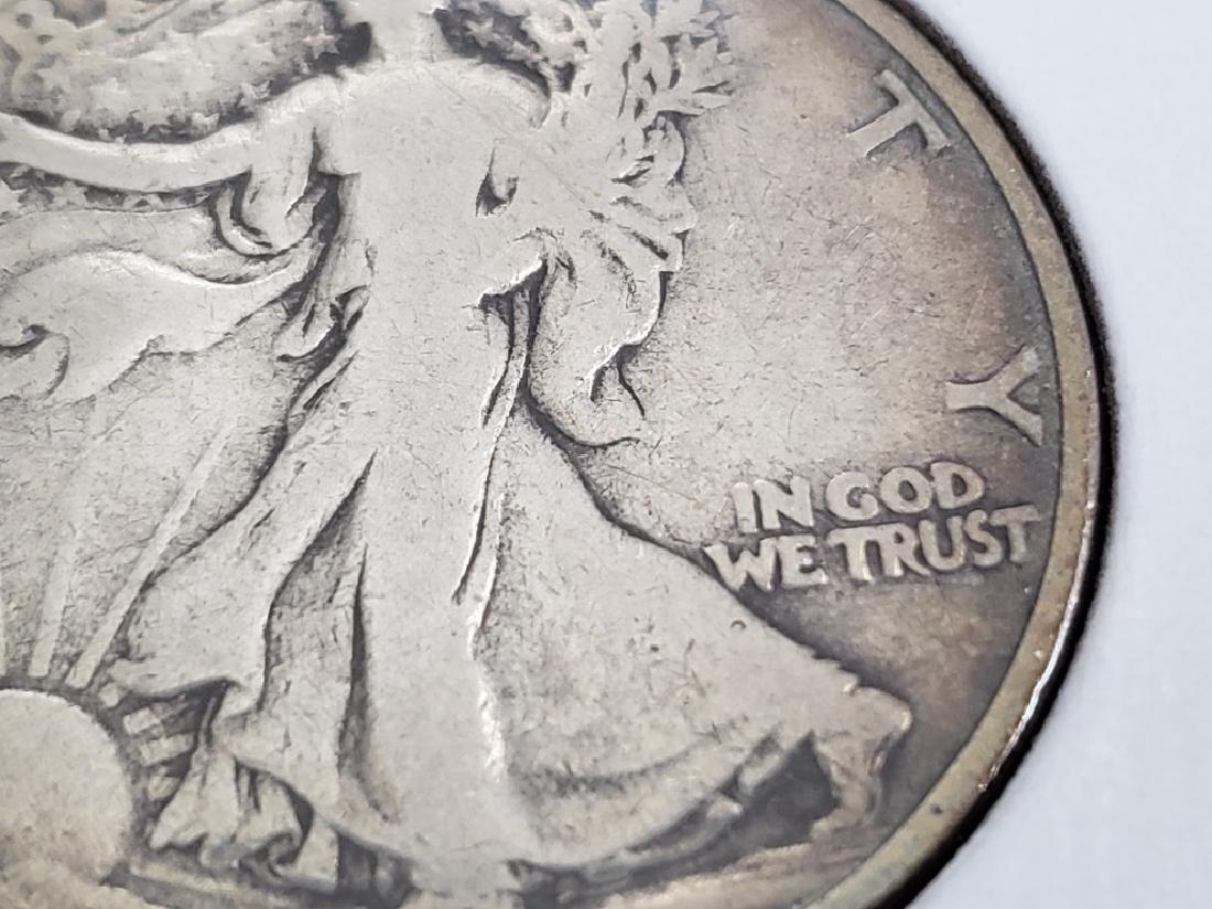 1917 Walking Liberty Half Dollar - 7