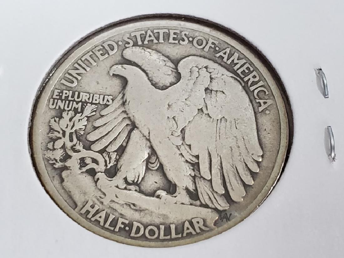 1917 Walking Liberty Half Dollar - 8