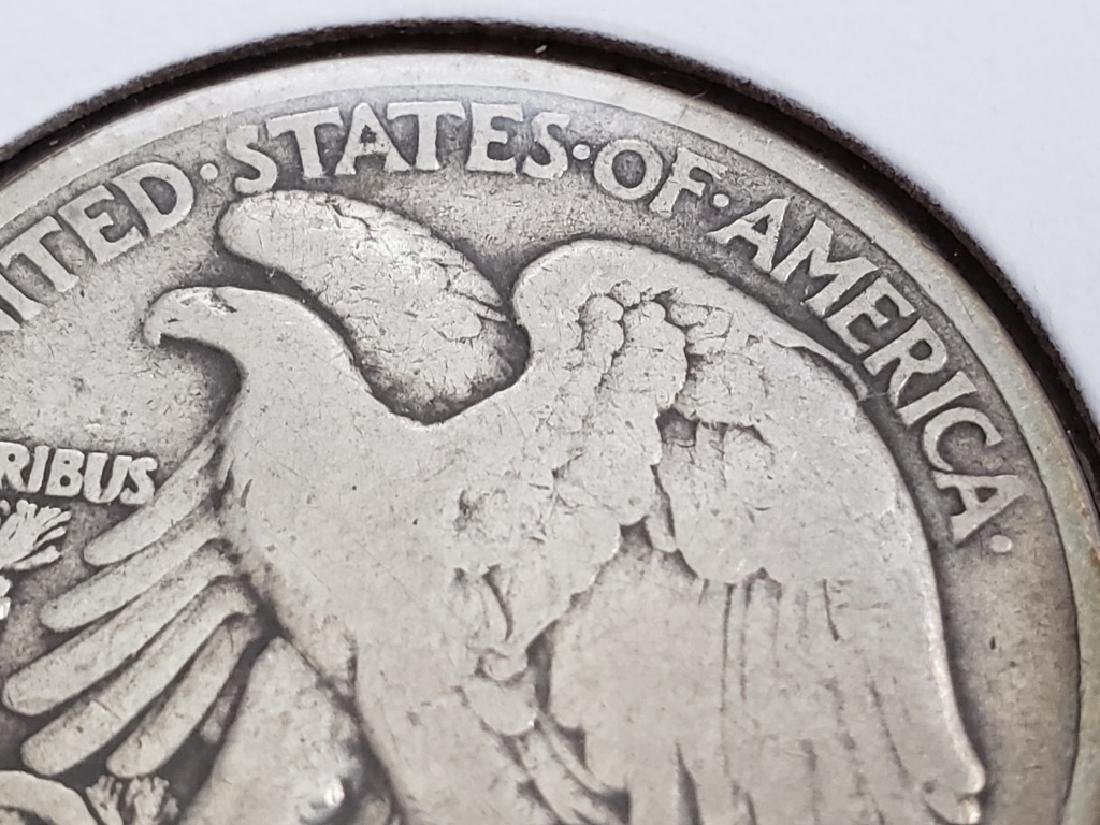 1917 Walking Liberty Half Dollar - 9