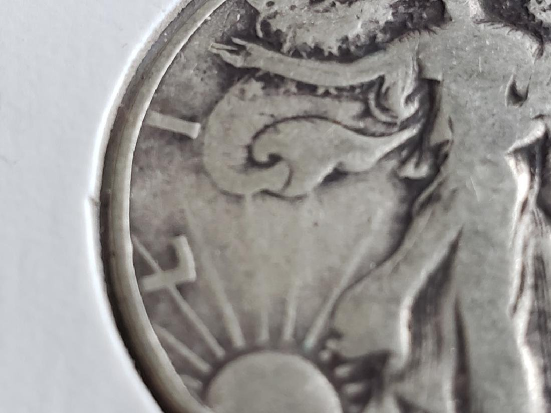 1940 Walking Liberty Half Dollar - 4