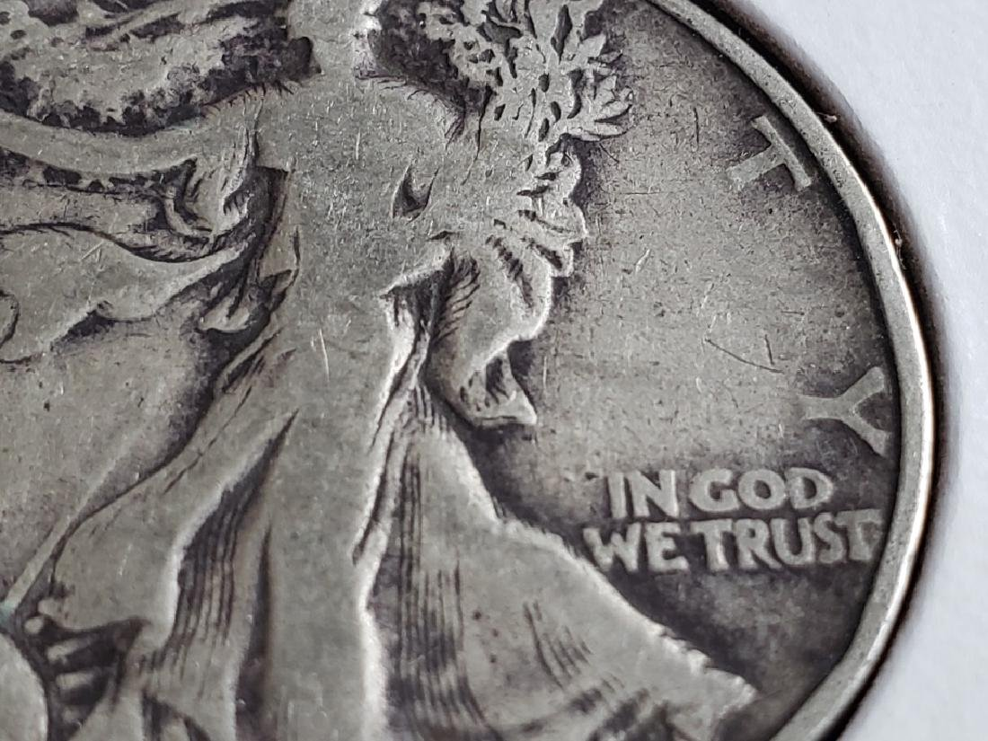 1940 Walking Liberty Half Dollar - 6