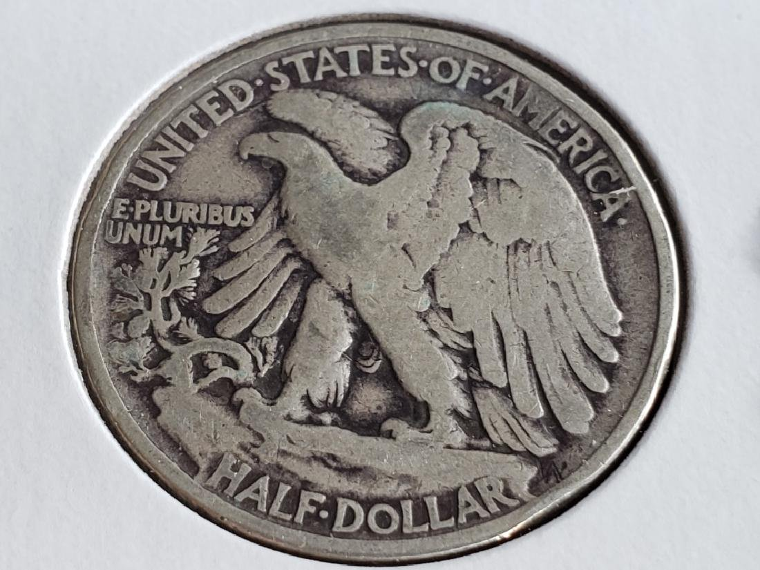 1940 Walking Liberty Half Dollar - 7