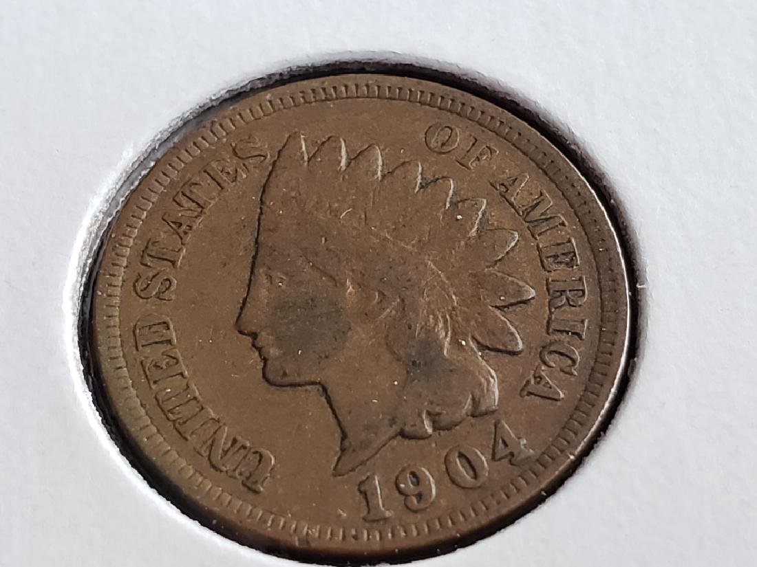 1904 Indian Head Cent - 2