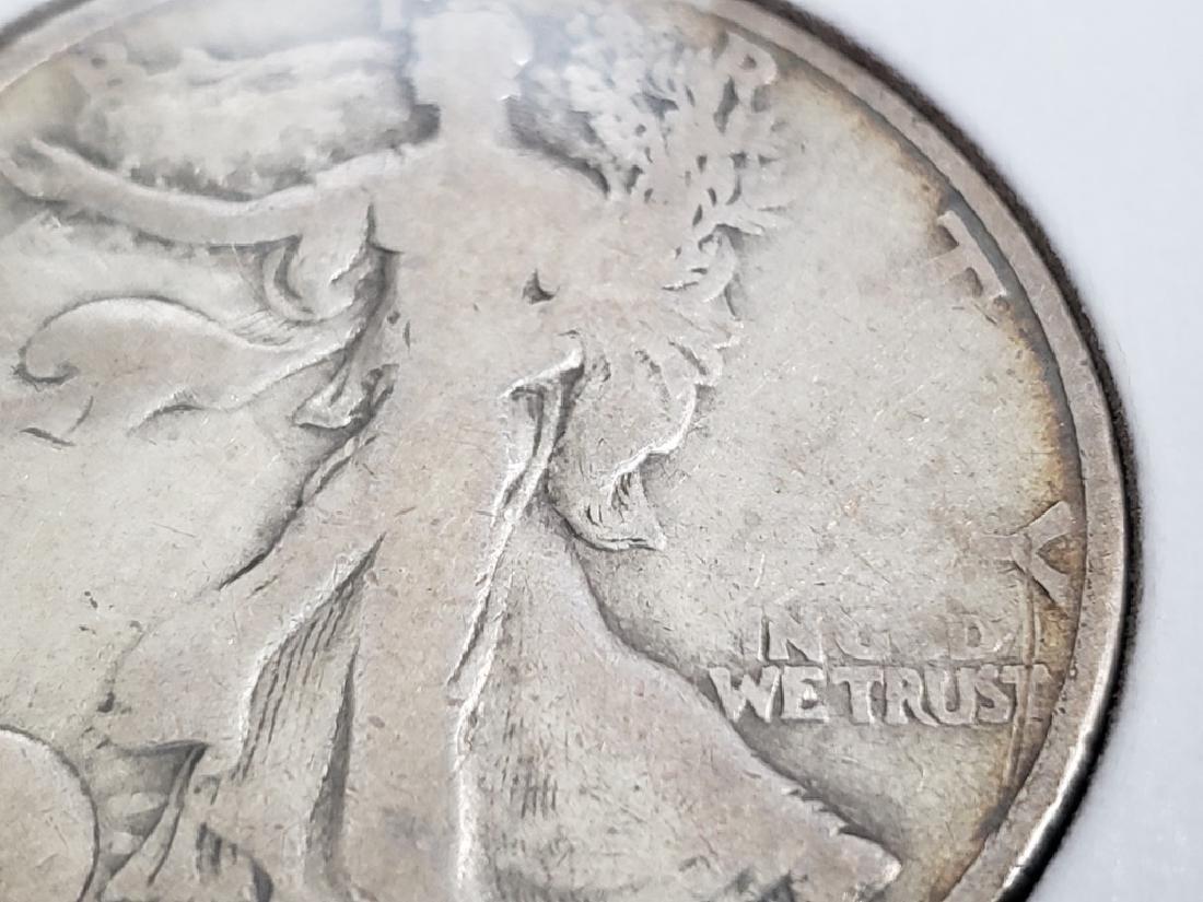 1919 Walking Liberty Half Dollar - 6