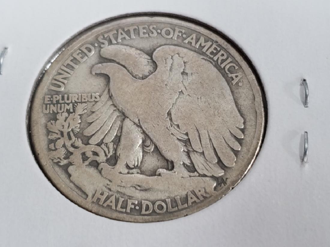 1919 Walking Liberty Half Dollar - 7