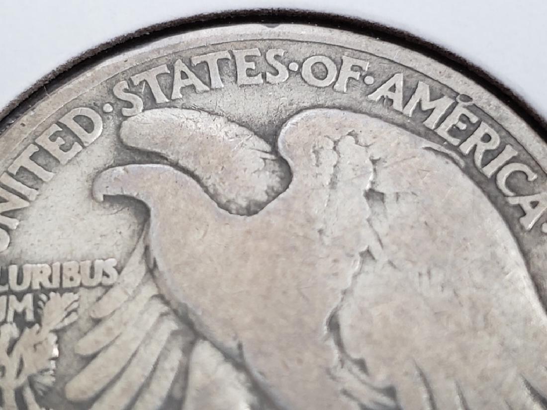 1919 Walking Liberty Half Dollar - 8