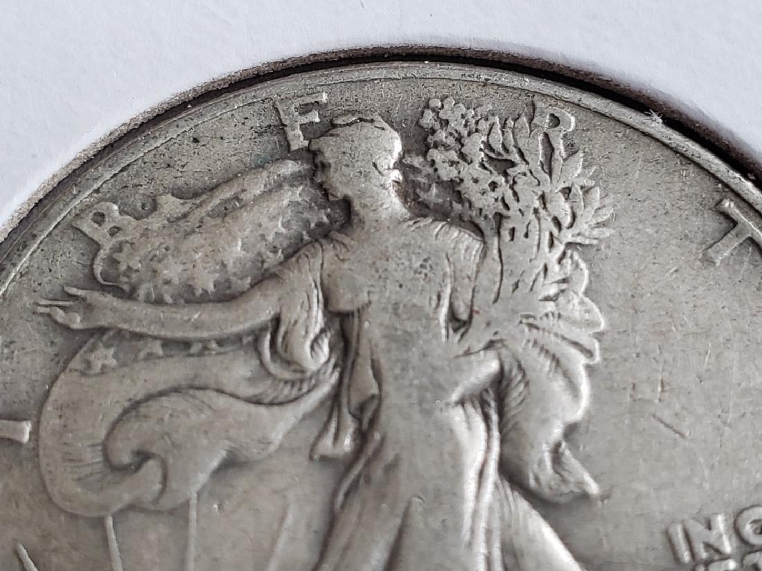 1941 Walking Liberty Half Dollar - 3