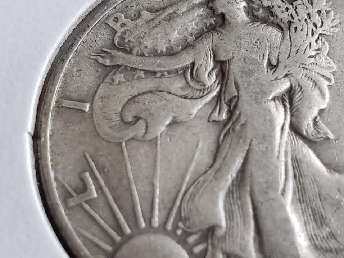 1941 Walking Liberty Half Dollar - 4