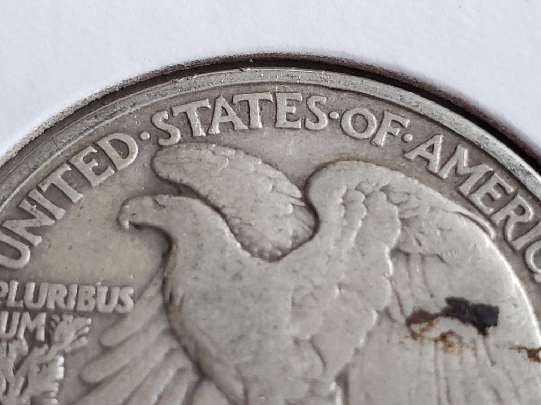 1941 Walking Liberty Half Dollar - 8