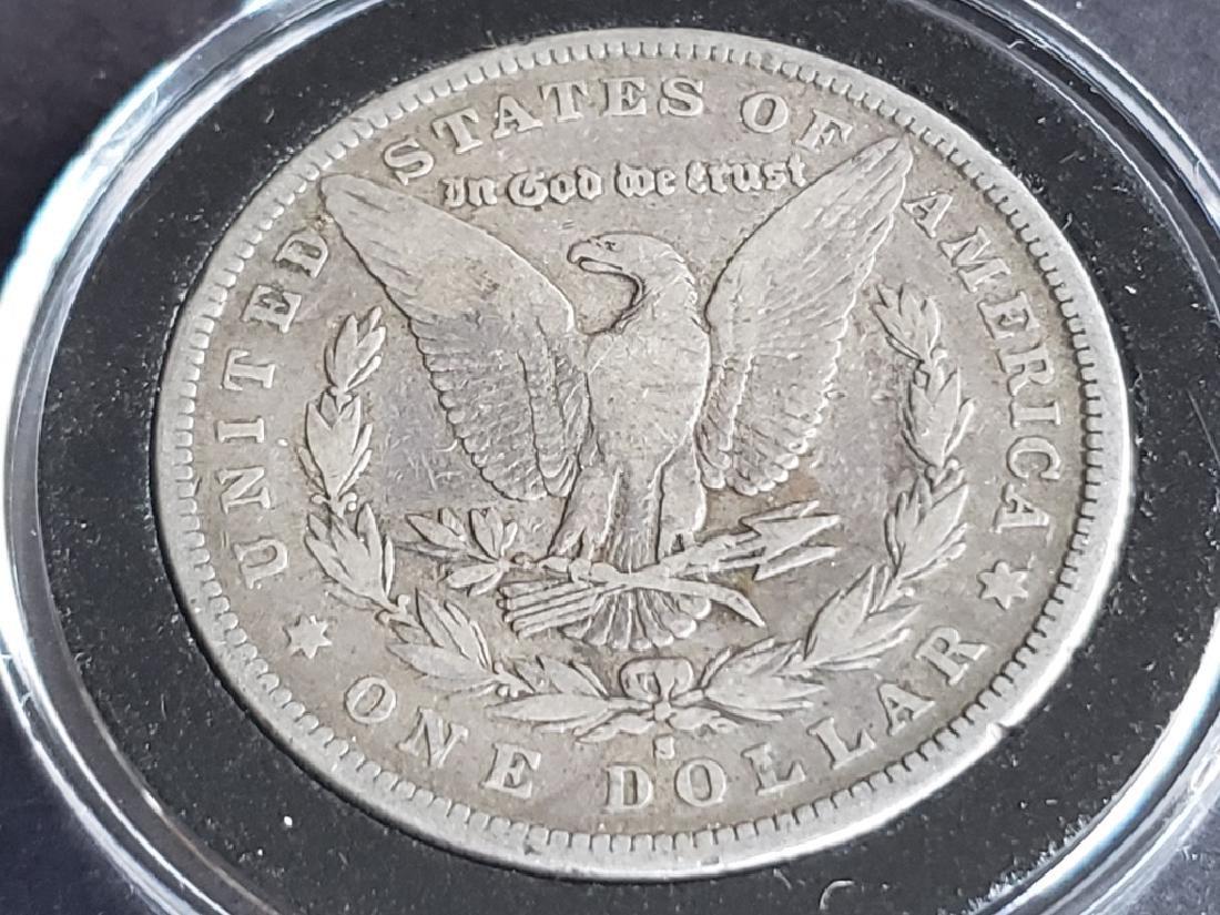 1879 S Morgan Silver Dollar - 6