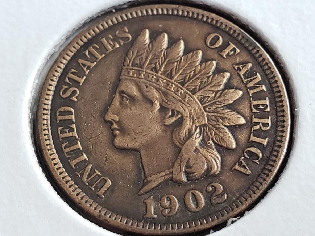 1902 Indian Head Cent - 2