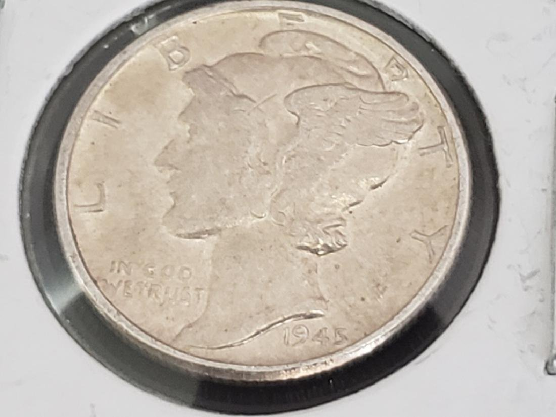 1945 Mercury Dime - 2