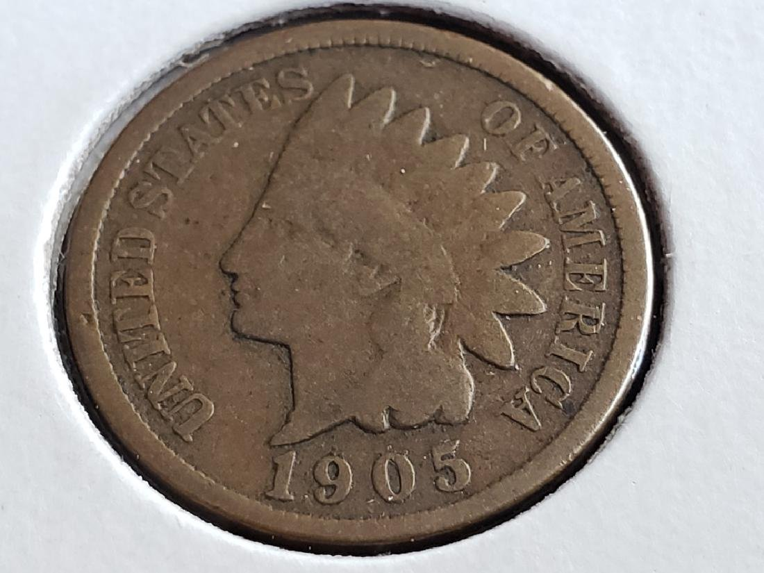 1905 Indian Head Cent - 2