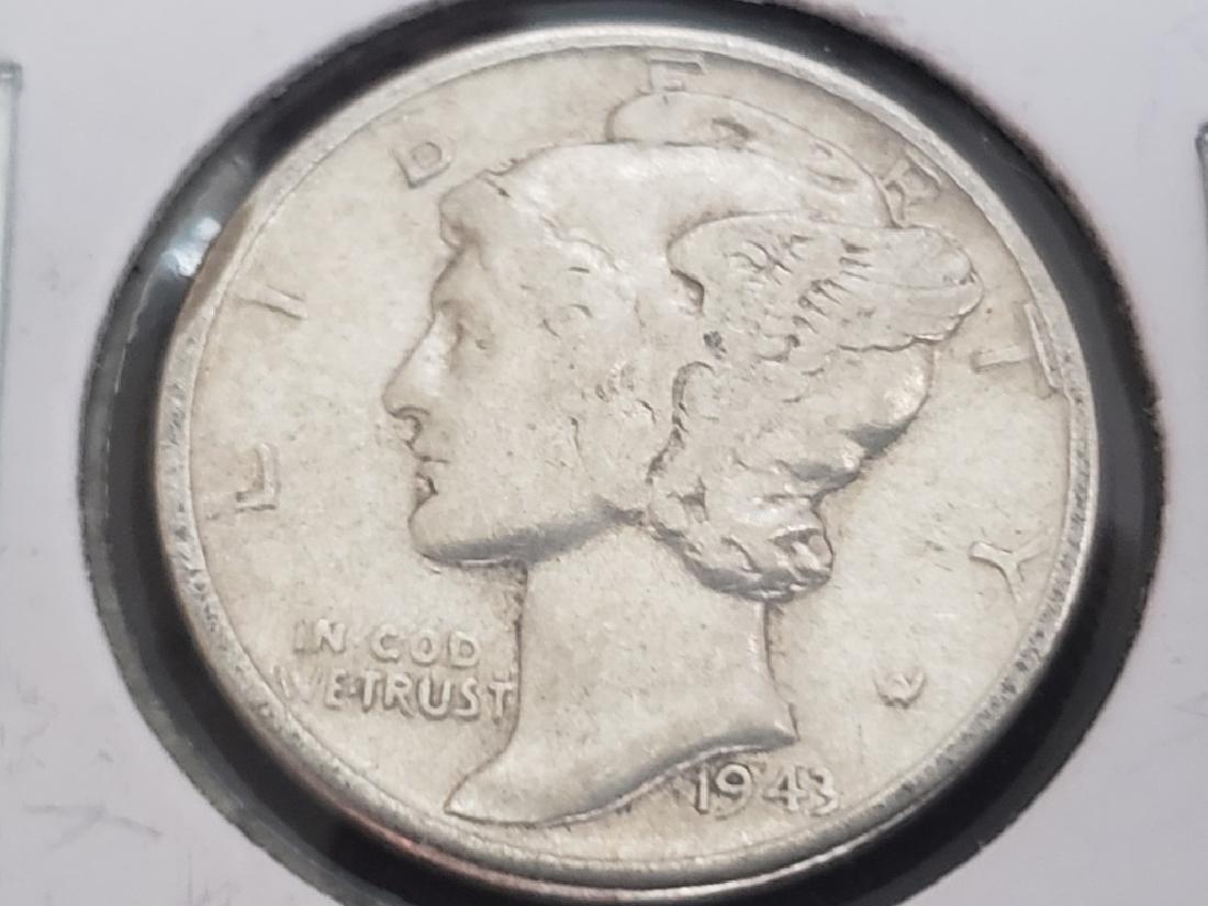 1943 Mercury Dime - 2