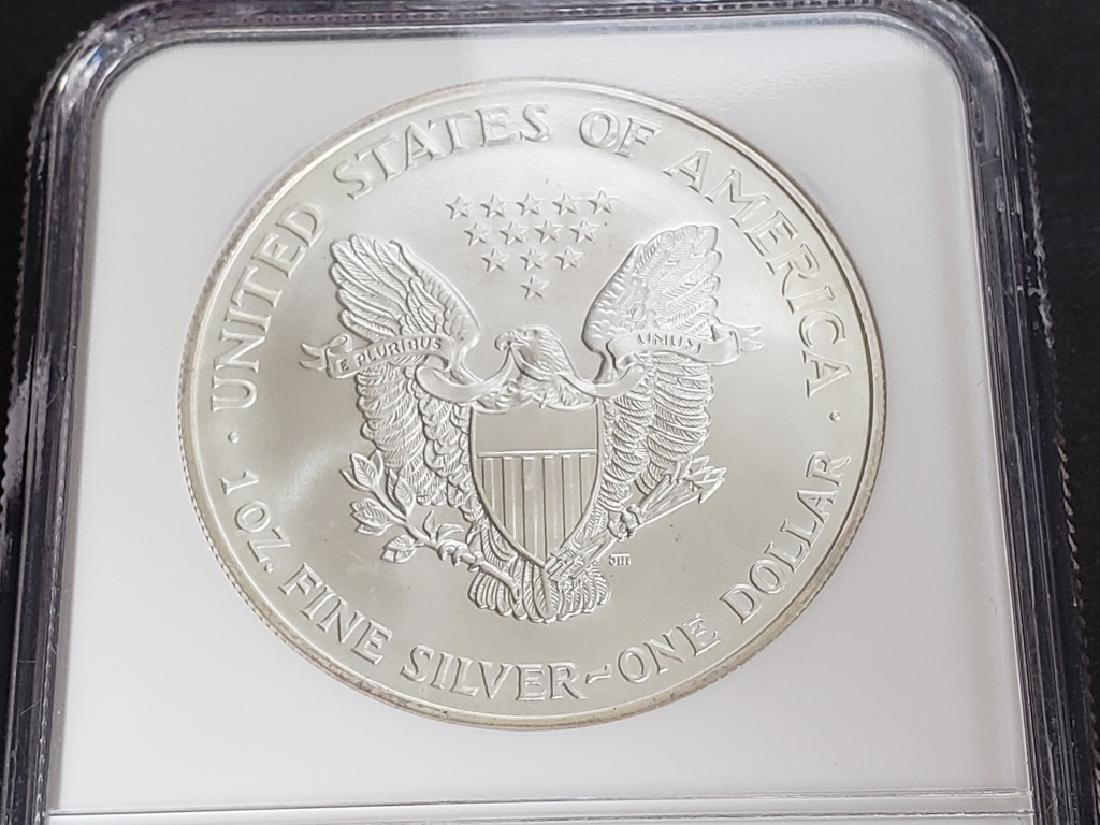 1998 American Silver Eagle NGC MS69 - 5